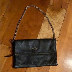 Small Kate Spade Black Leather Purse